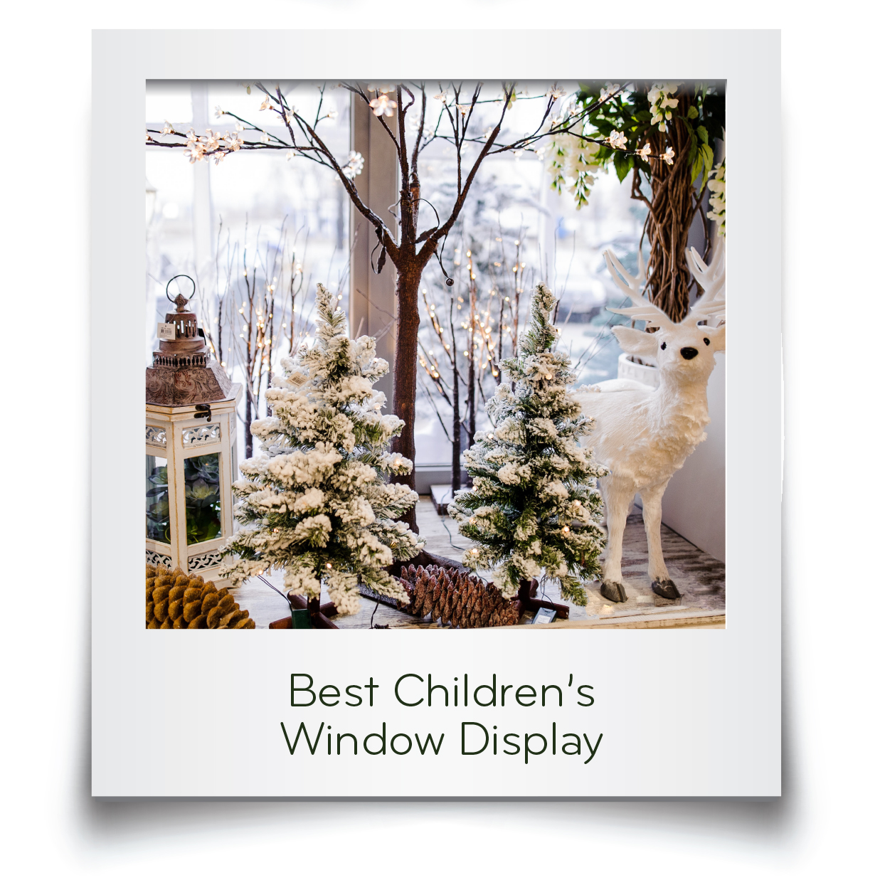 Best Childrens WIndow DIsplay Card