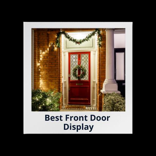 Best Front Door Display