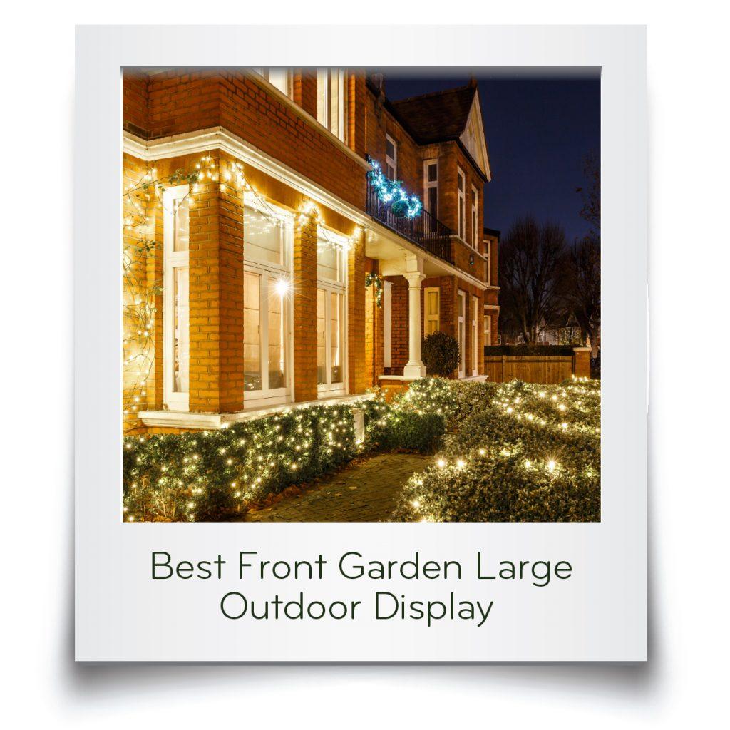 Best Front Garden Large Card