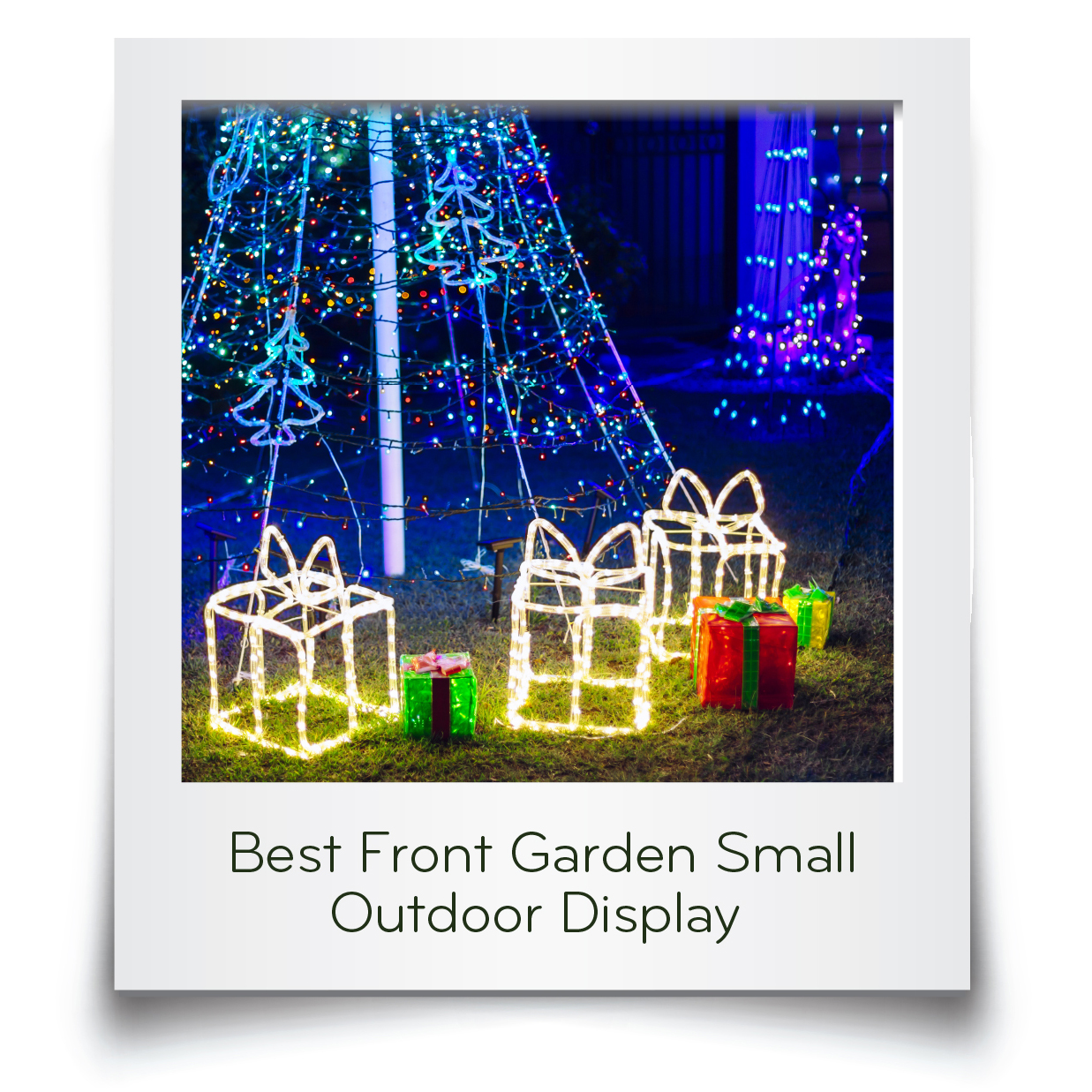 Best Front Garden Small Card