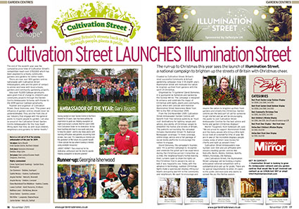 GTN Extra Illumination Street and Cultivation Street Press Page