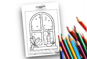 Window Feature Image Colouring page Illumination Street colouring