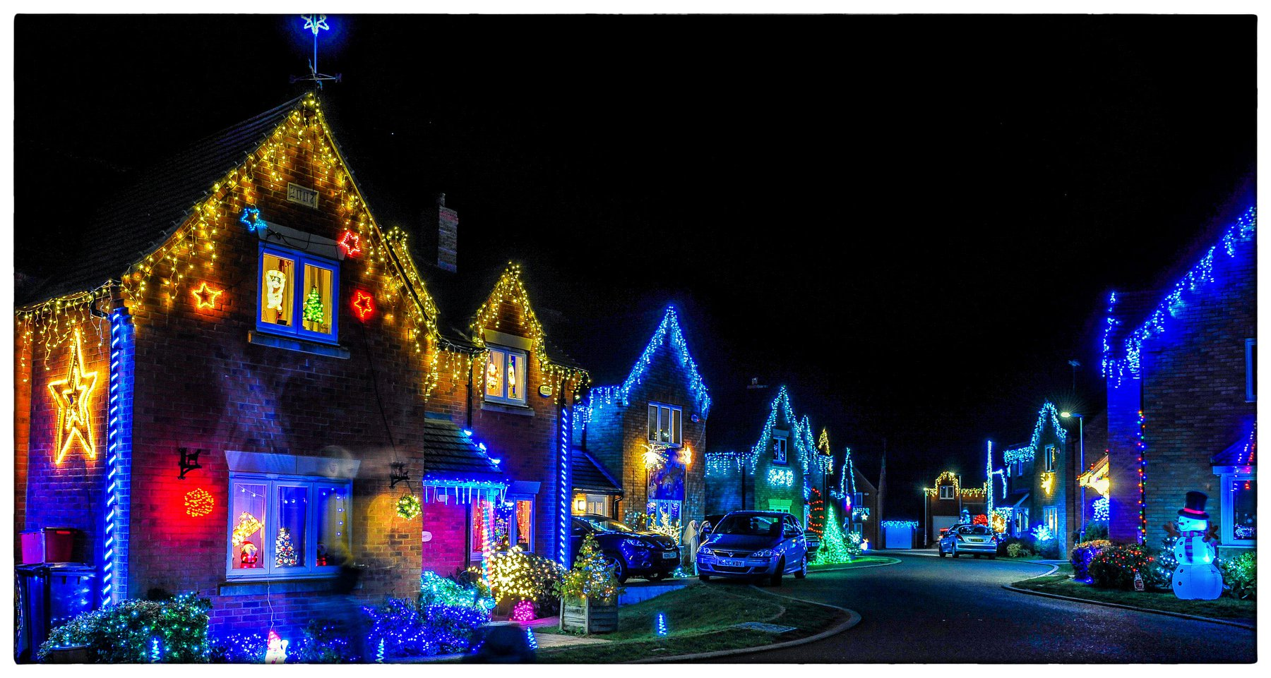 1st Best Community Display - Hollow Wood Road Lights - Kettering