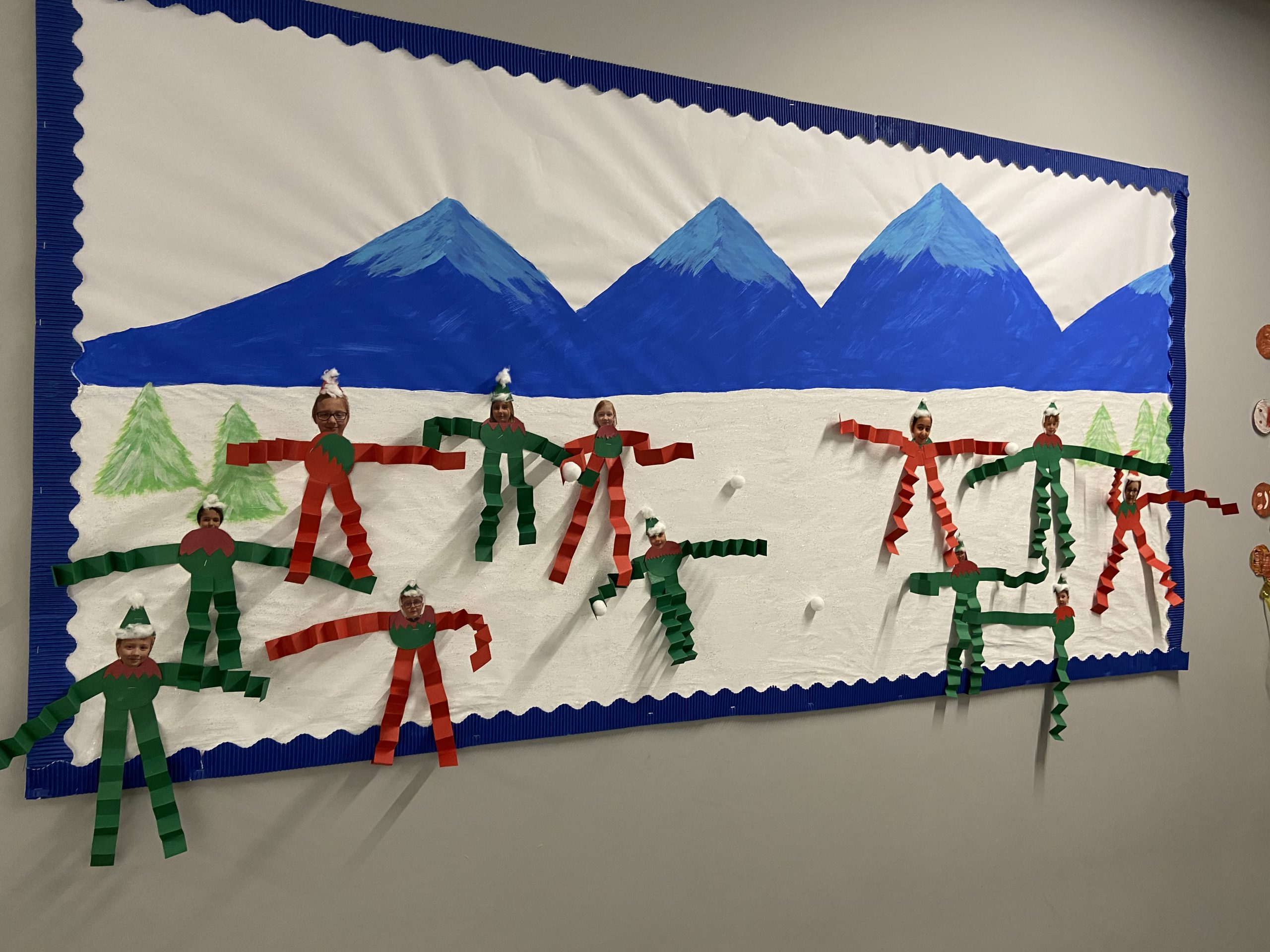 Best Children's Display - Public Vote 1st Place - St Francis Primary School