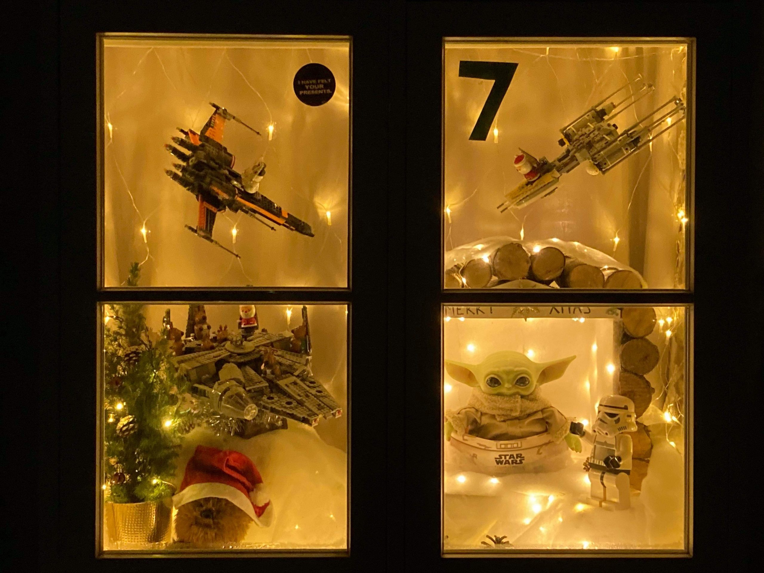 Community Display Joint 3rd Place - Helpston Village Advent Trail